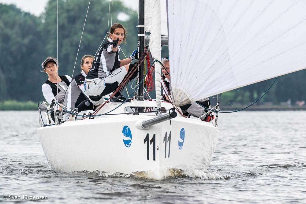 Helga Cup: 84 Frauencrews aus der ganzen Welt suchen auf der Alster mehr als ihre Besten