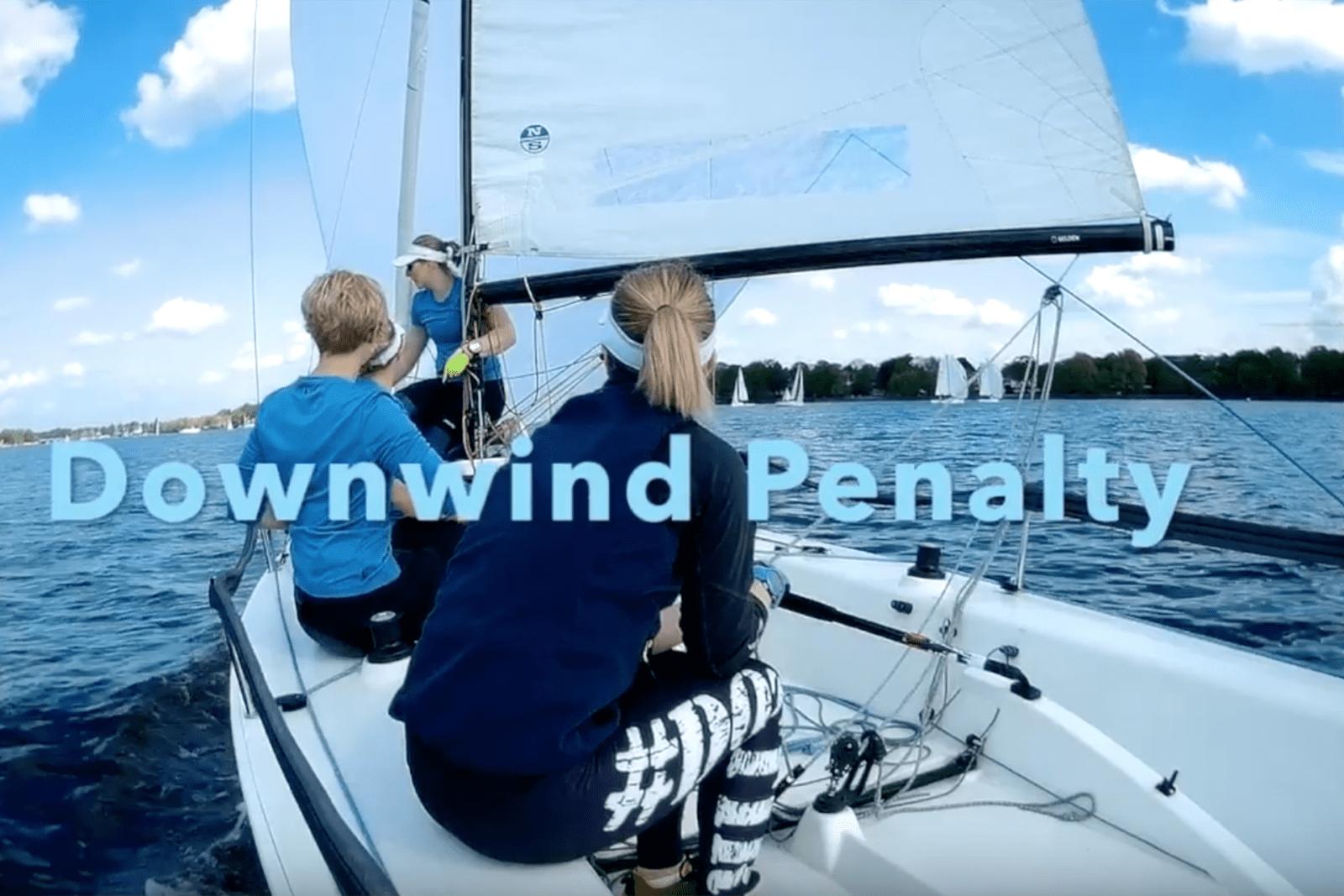 Video-Tutorial: downwind penalty