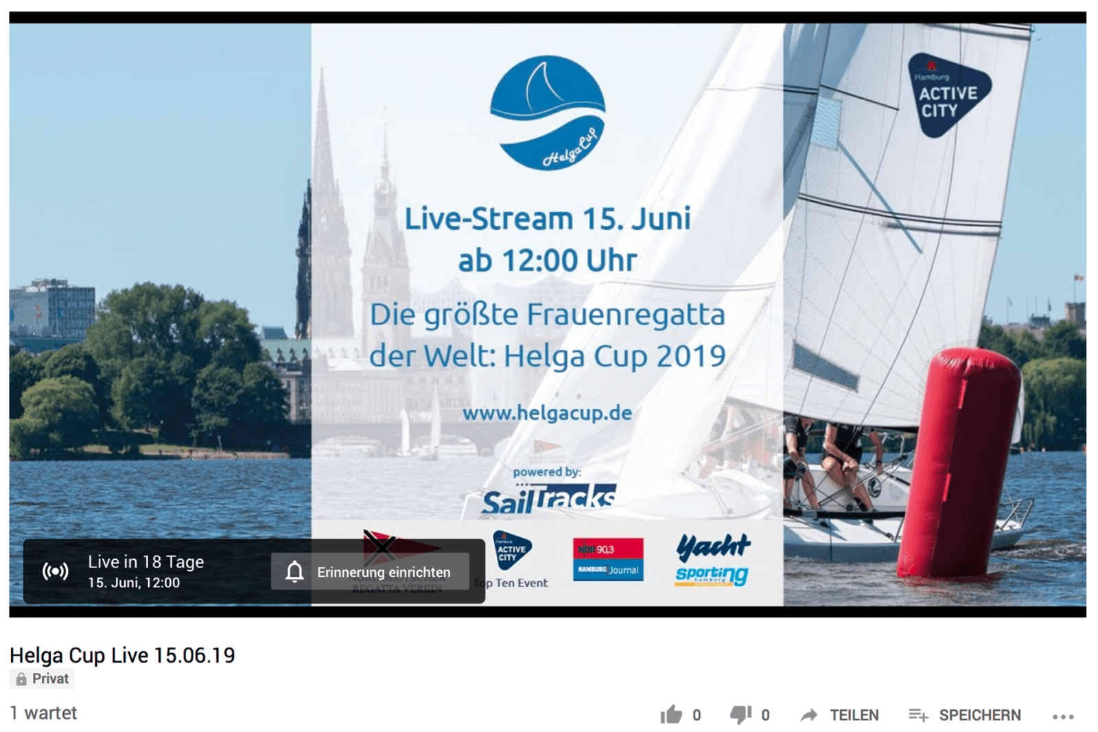 COUNTDOWN -News – Helga Cup 2019 !
