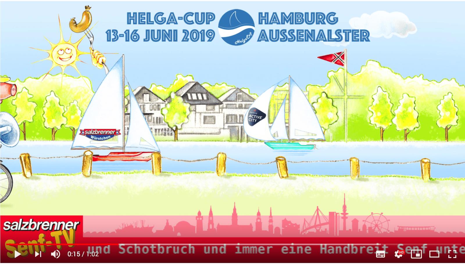 Salzbrenner Würstchen beim Helga Cup