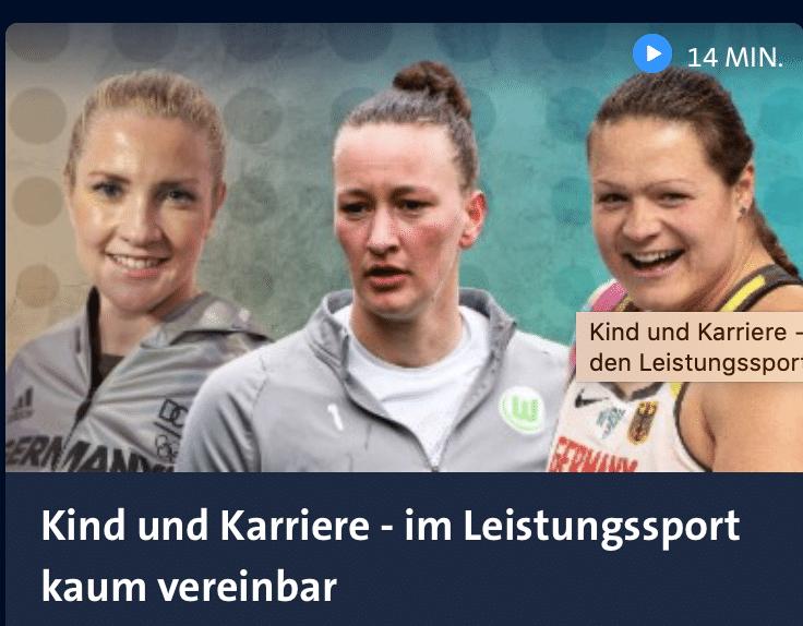 Leistungssportlerin und Kind?